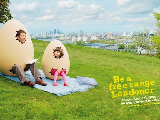 London's Great Outdoors Print Ad -  Park