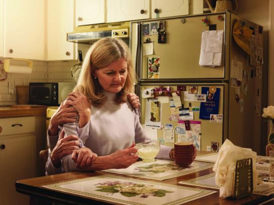 Parkinson Society Canada Print Ad -  Kitchen