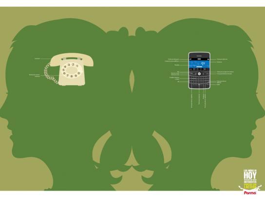 Parma Print Ad -  Phone