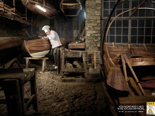 Parmalat Print Ad -  Shipwright
