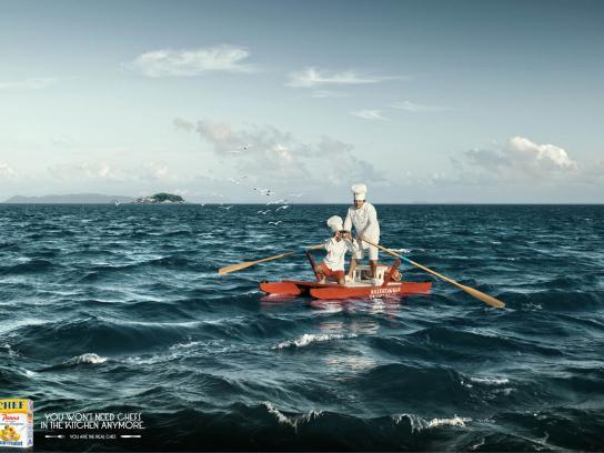 Parmalat Print Ad -  Lifeguard