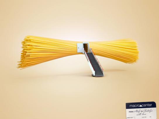 Macrocenter Print Ad -  Pasta