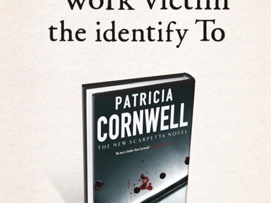 Patricia Cornwell Print Ad -  Backwards, 1