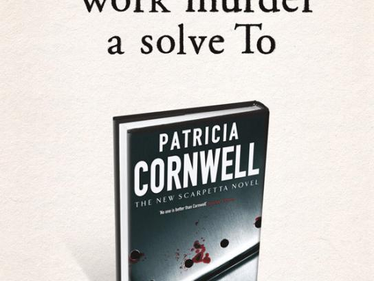Patricia Cornwell Print Ad -  Backwards, 2