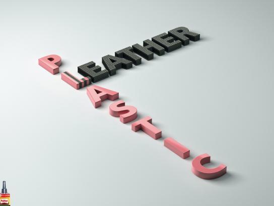 Pattex Print Ad -  Plastic