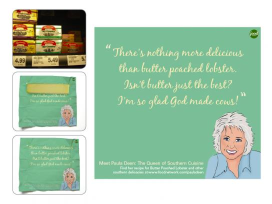 The Food Network Print Ad -  Butter