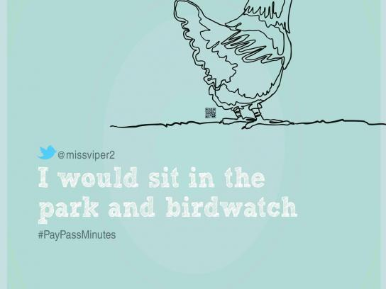 MasterCard Print Ad -  Birdwatch