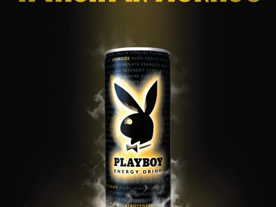 Playboy Print Ad -  Energy to play, 2