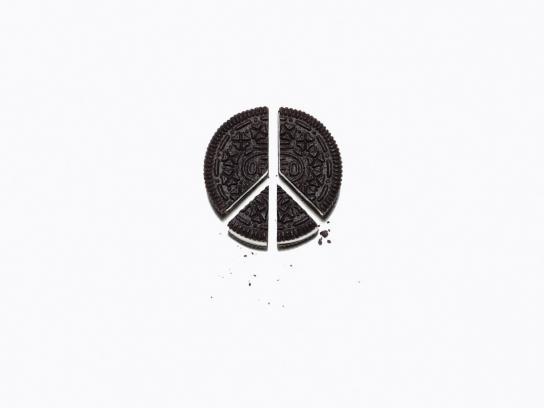 Oreo Print Ad -  Peace