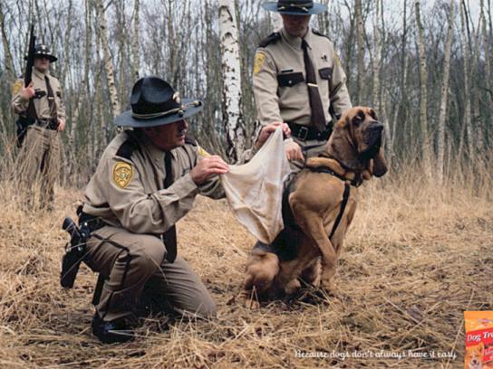 Pedigree Print Ad - Pedigree police dog