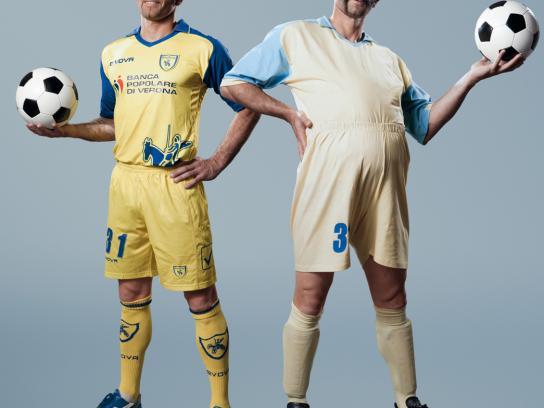 SKY Print Ad -  The most beautiful football, Pellissier