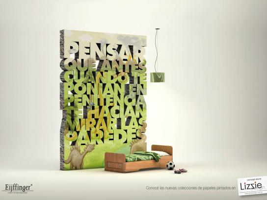Lizzie Design Print Ad -  Penance