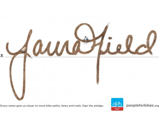 People for Bikes Print Ad -  Mountain