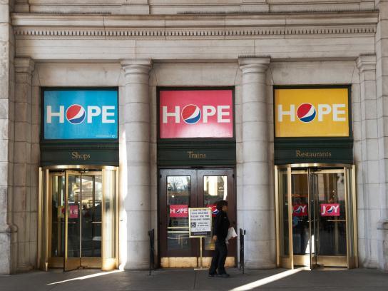 Pepsi Outdoor Ad -  Hope