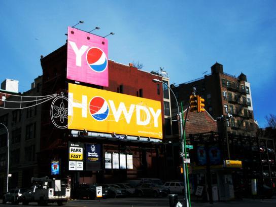 Pepsi Outdoor Ad -  Howdy