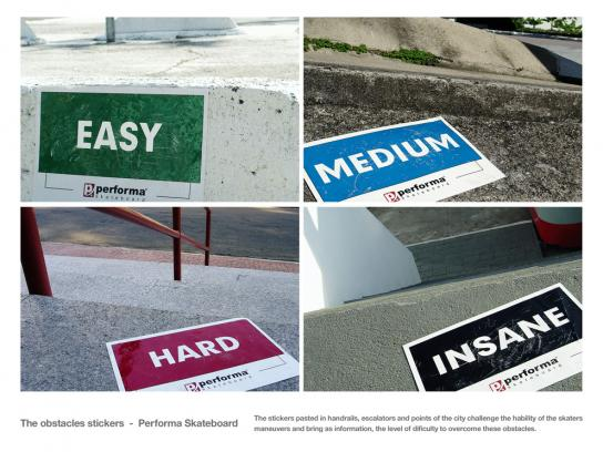 Performa Outdoor Ad -  Stickers