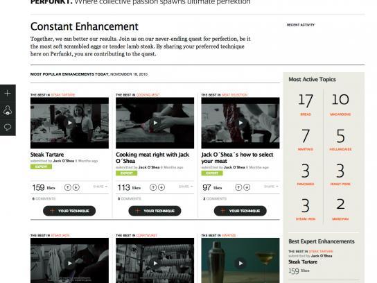 Electrolux Digital Ad -  Perfunkt Webisodes