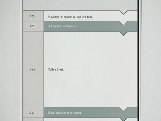 Perini Print Ad -  Schedule