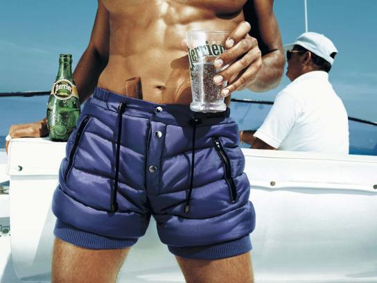 Perrier Print Ad -  Shorts