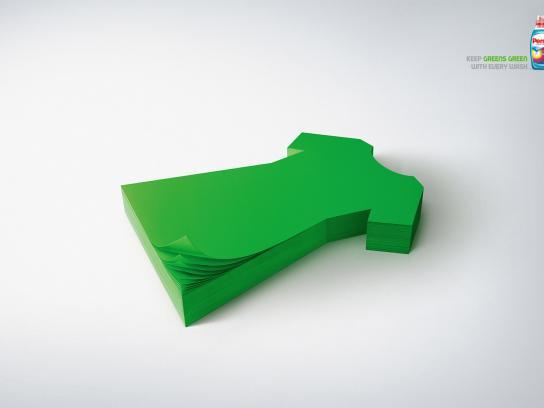 Persil Print Ad -  Green