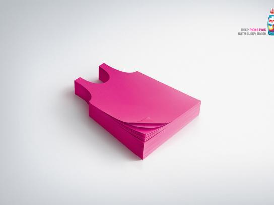 Persil Print Ad -  Pink