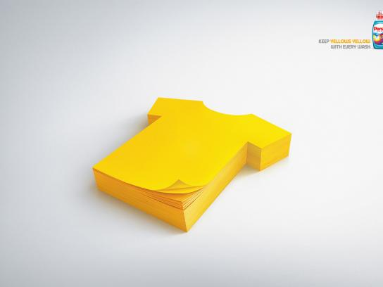 Persil Print Ad -  Yellow