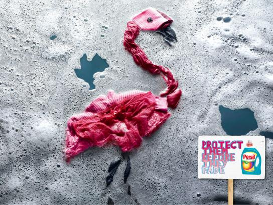 Persil Outdoor Ad -  Flamingo