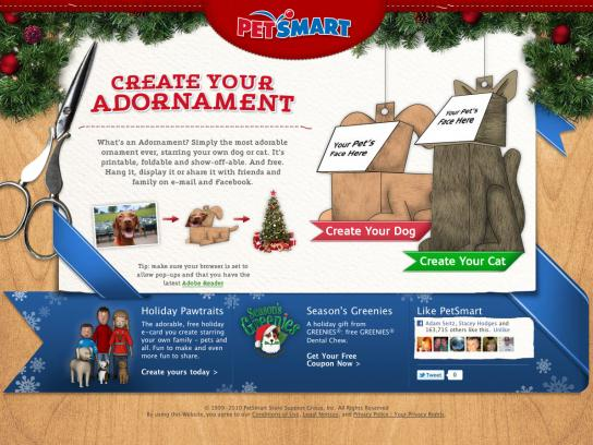 PetSmart Digital Ad -  Pet Adornaments