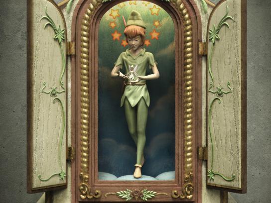 Viva e Deixe Viver Print Ad -  Storytellers, Peter Pan