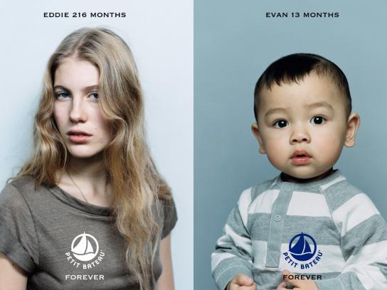 Petit Bateau Print Ad -  Forever, 2