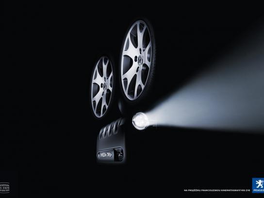 Peugeot Print Ad -  HD