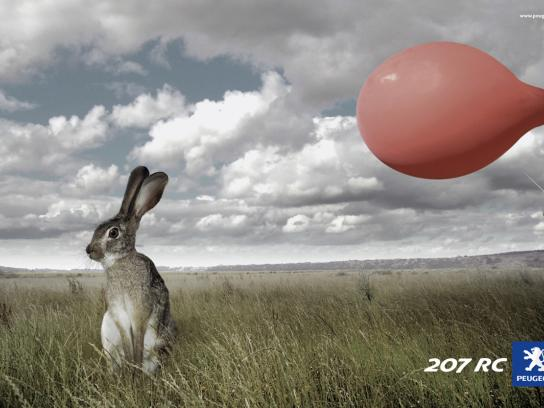 Peugeot Print Ad -  Rabbit