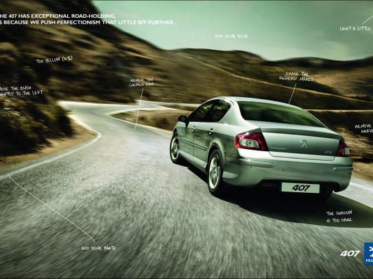 Peugeot Print Ad -  Retouch, 2