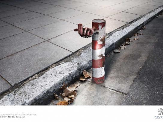 Peugeot Print Ad -  Street