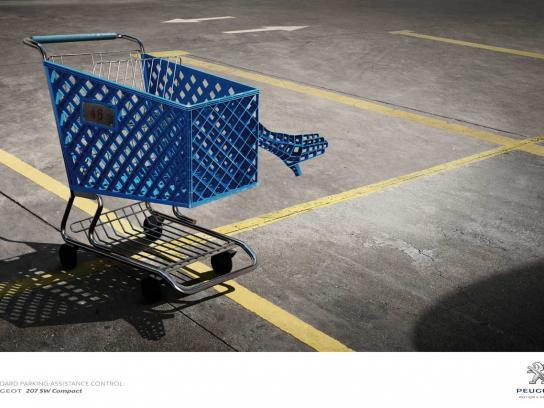 Peugeot Print Ad -  Supermarket