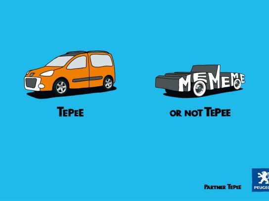 Peugeot Print Ad -  Me