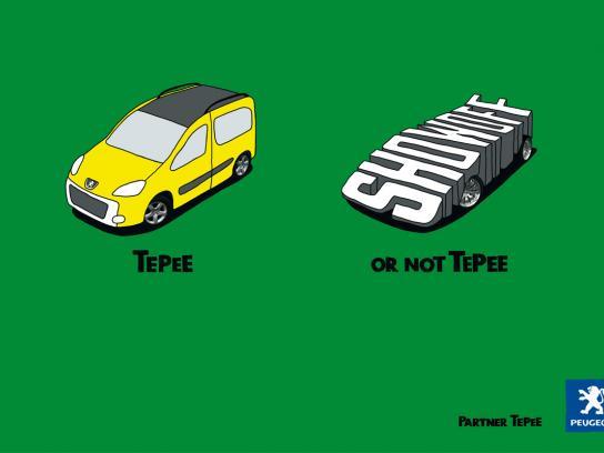 Peugeot Print Ad -  Show off