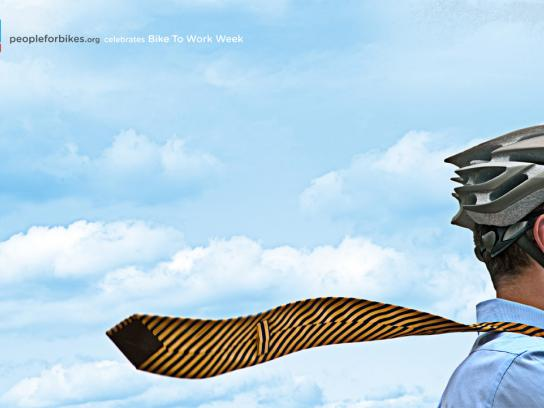 People for Bikes Print Ad -  Tie