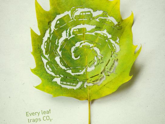 Plant for the planet Print Ad -  Traffic