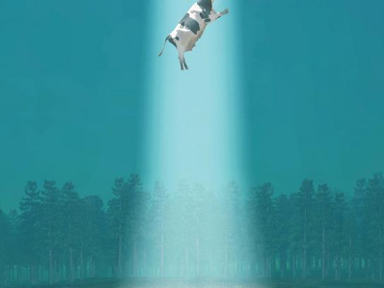 Philips Print Ad -  UFO