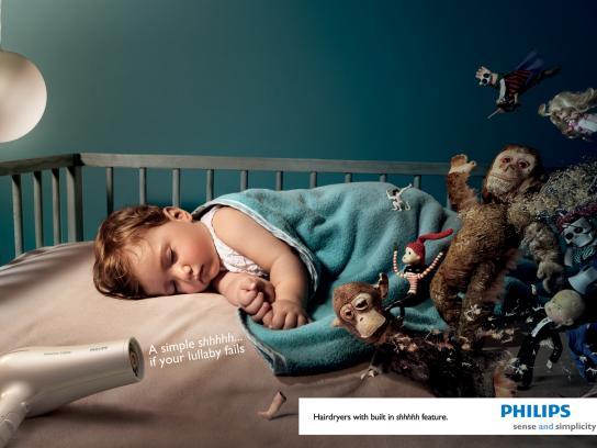 Philips Print Ad -  Shhhhh..., 1