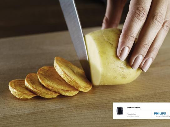 Philips Print Ad -  Potato