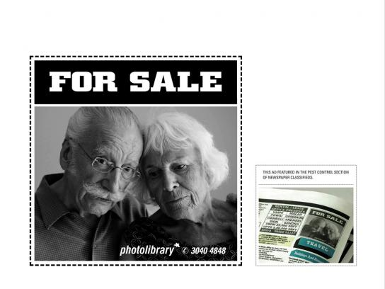 Photolibrary Print Ad -  Couple