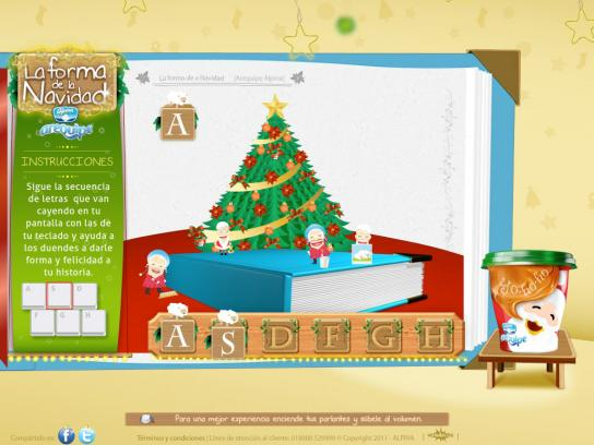 Arequipe Alpina Digital Ad -  The Christmas Shape