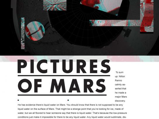 Martian Summer Outdoor Ad -  Pictures of Mars