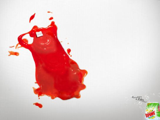 Espumil Print Ad -  Ketchup