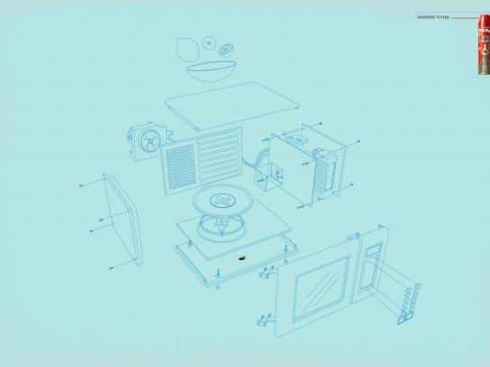 PifPaf Print Ad -  Microwave