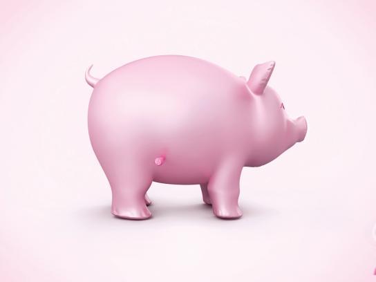 Acigel-mps Print Ad -  Pig