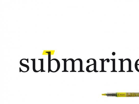 Pilot Outdoor Ad -  Submarine