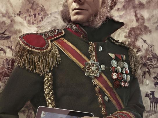 Pilsner Beer Print Ad -  General Vladimir